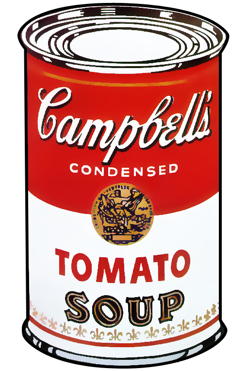 Campbells soup Andy Warhol